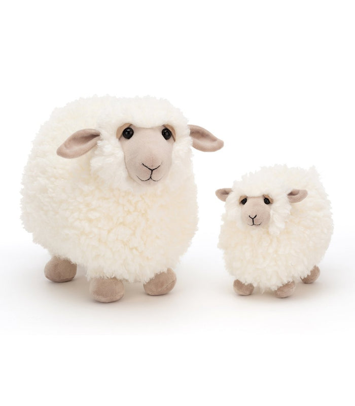 Little jellycat play small rolbie sheep