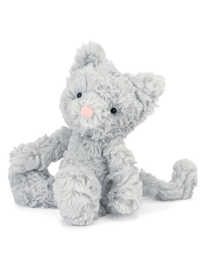 Little jellycat play squiggles kitty