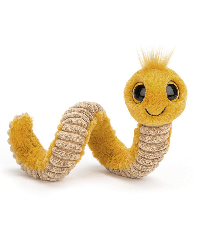 Little jellycat play yellow wiggly worm