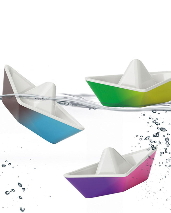 Little kid o play origami color changing boats