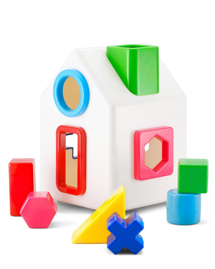 Little kid o play Sort A Shape House