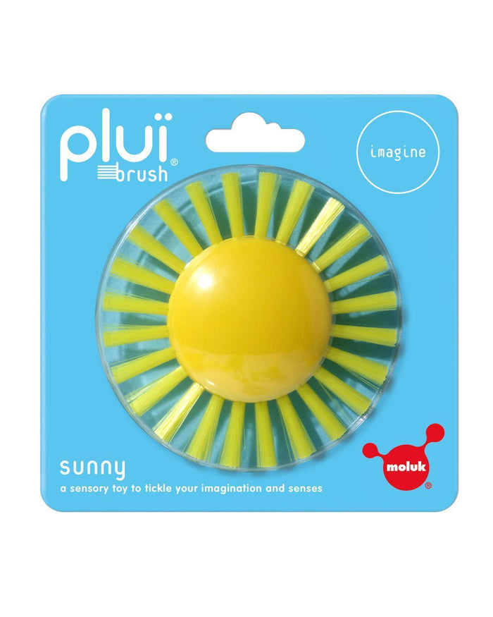 Little kid o play Sunny Plui Brush