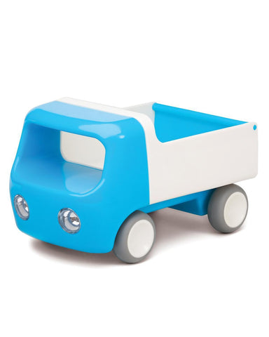 Little kid o play Tip Truck in Blue