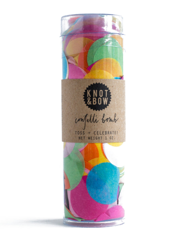 Little knot + bow paper+party Party Confetti Bomb