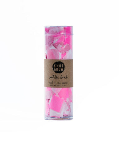Little knot + bow paper+party Party Confetti Bomb in Pink