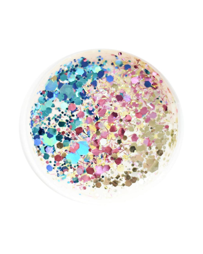Little land of dough play sparkle + seahorse large glitter scoop