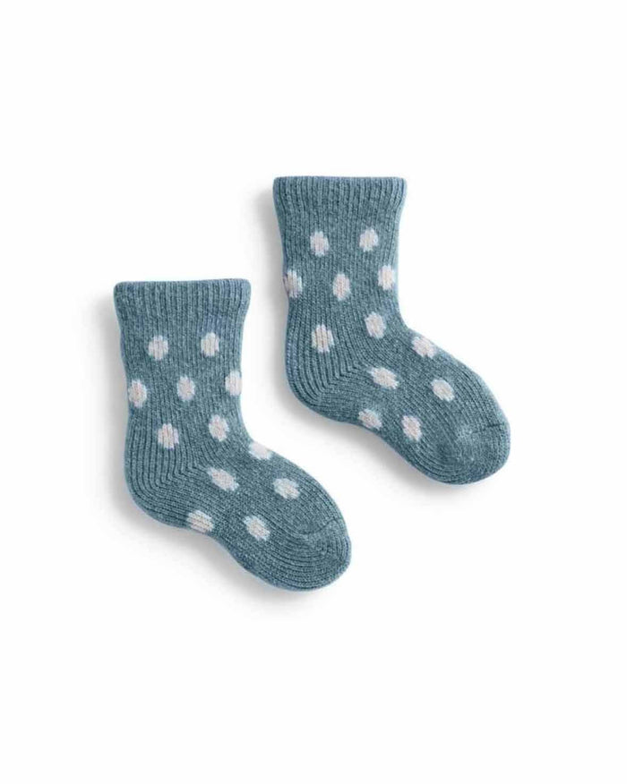 Little lisa b. accessories baby dot socks in mineral