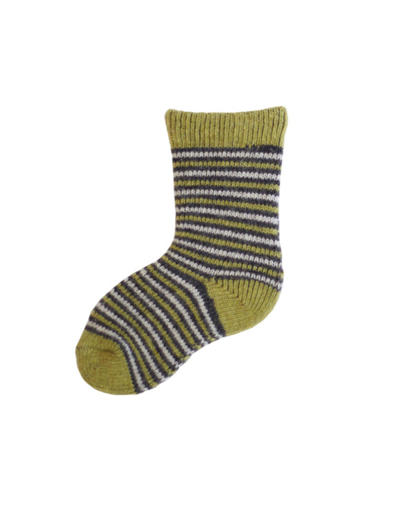 Little lisa b. accessories Palm Leaf Striped Baby Socks