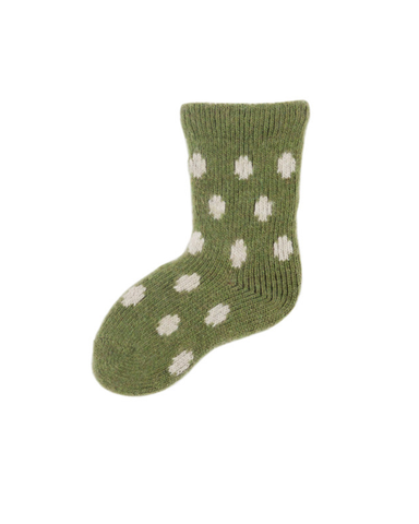 Little lisa b. accessories Peridot Dot Baby Socks
