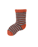 Little lisa b. accessories Pumpkin Striped Baby Socks