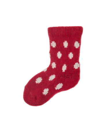 Little lisa b. accessories Red Dot Baby Socks