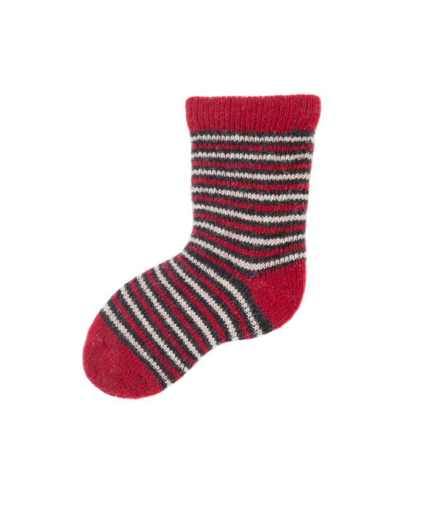 Little lisa b. accessories Red Striped Baby Socks