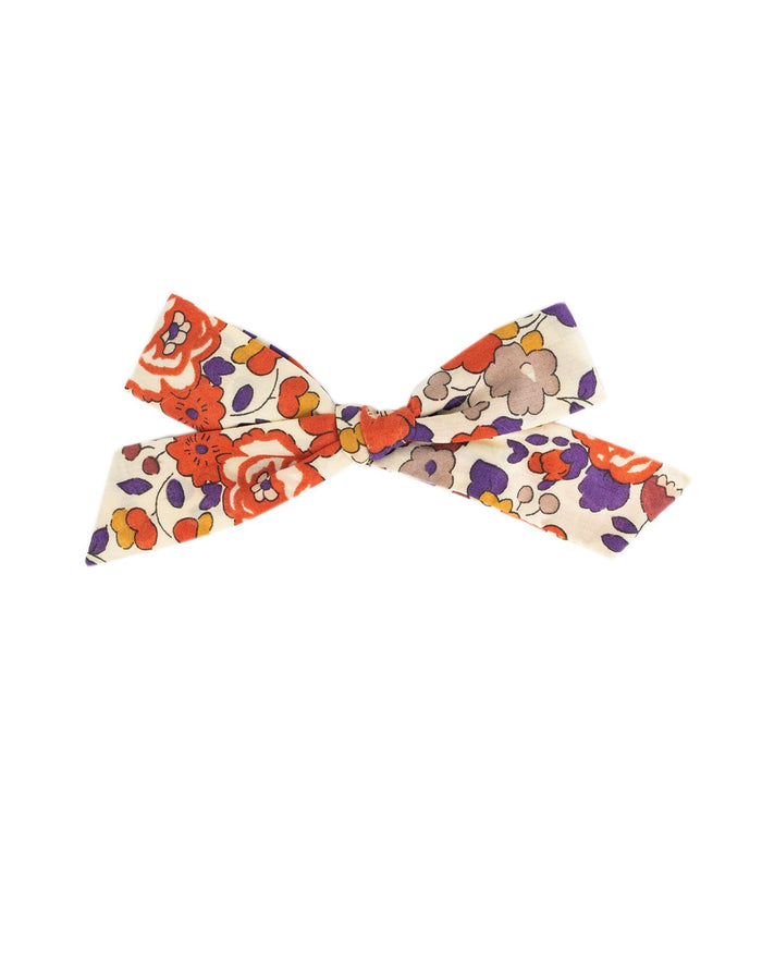 Little little accessories medium schoolgirl bow in jolie