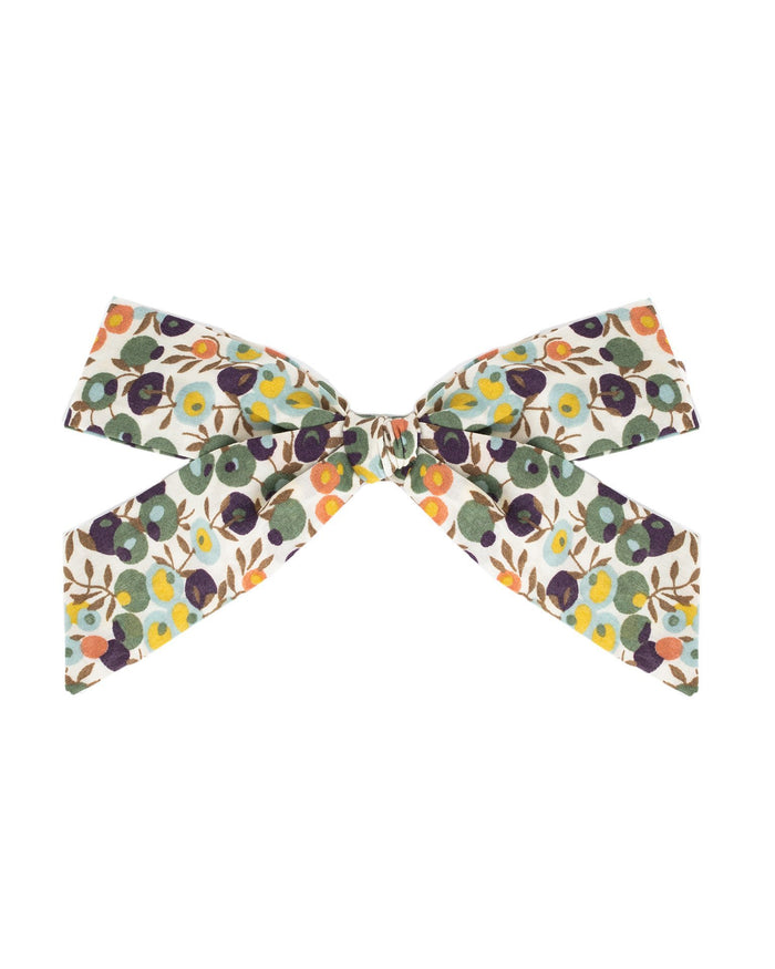 Little little accessories oversized schoolgirl bow in lola
