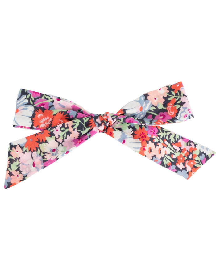 Little little accessories oversized schoolgirl bow in zoe