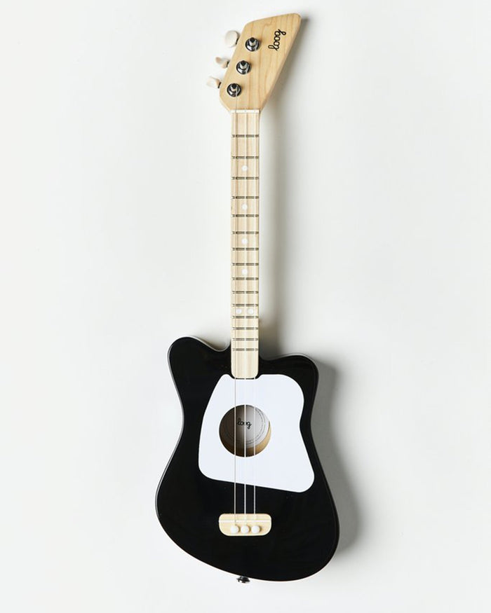 Little loog guitars play loog mini in black