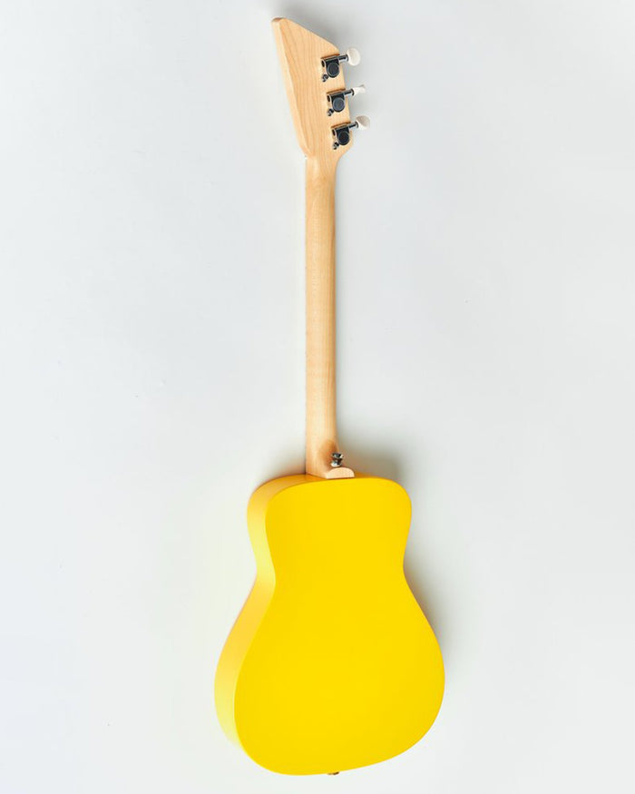 Little loog guitars play loog pro acoutsic in yellow
