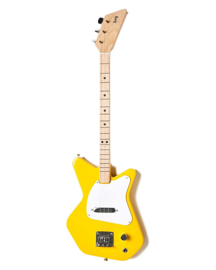Little loog guitars play Loog Pro Electric in Yellow
