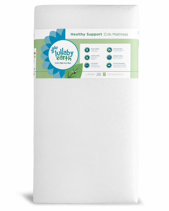 Little lullaby earth room Healthy Support Crib Mattress in White