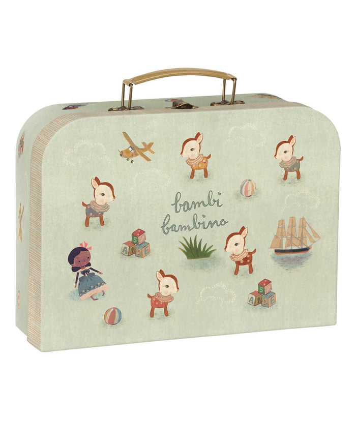 Little maileg play bambi bambino suitcase