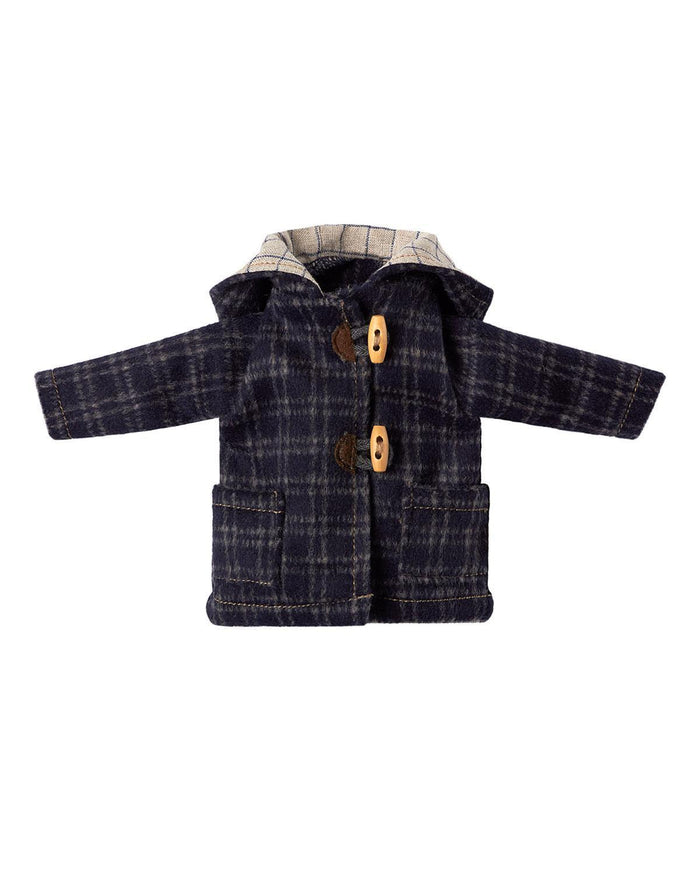 Little maileg play Best Friends Duffle Coat in Marine