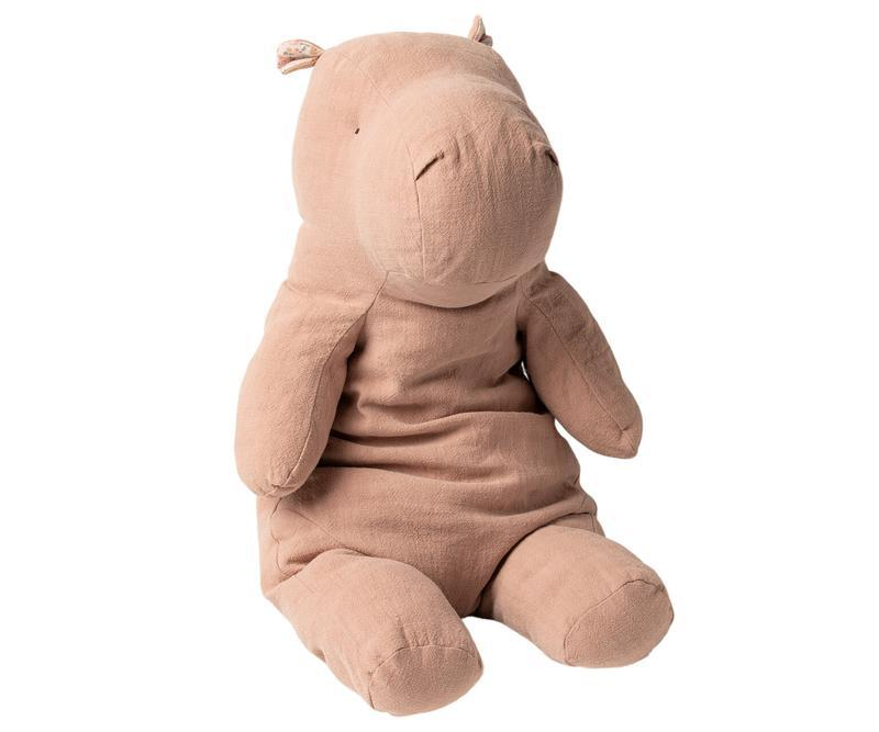 Little maileg play big hippo in dusty rose