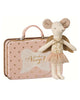 Little maileg play big sister guardian angel mouse in suitcase