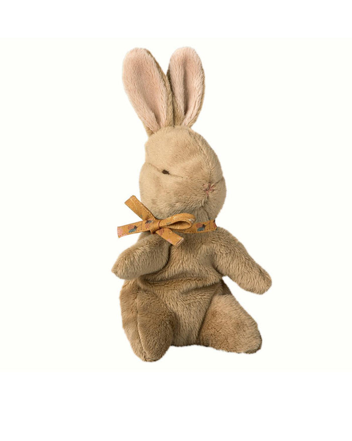 Little maileg play brown baby bunny in ochre