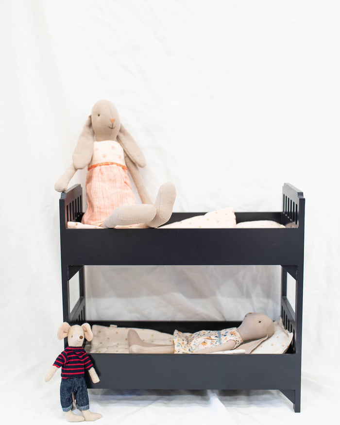 Little maileg play Bunk Bed in Black
