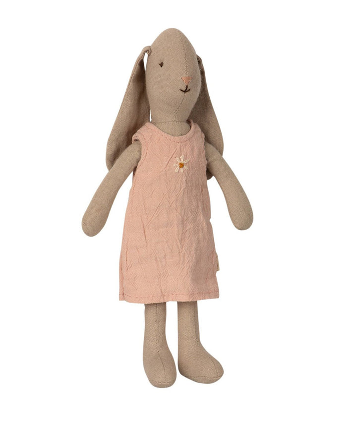 Little maileg play bunny in rose dress
