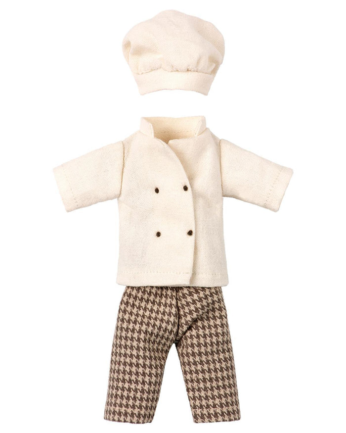 Little maileg play chef clothes for mouse