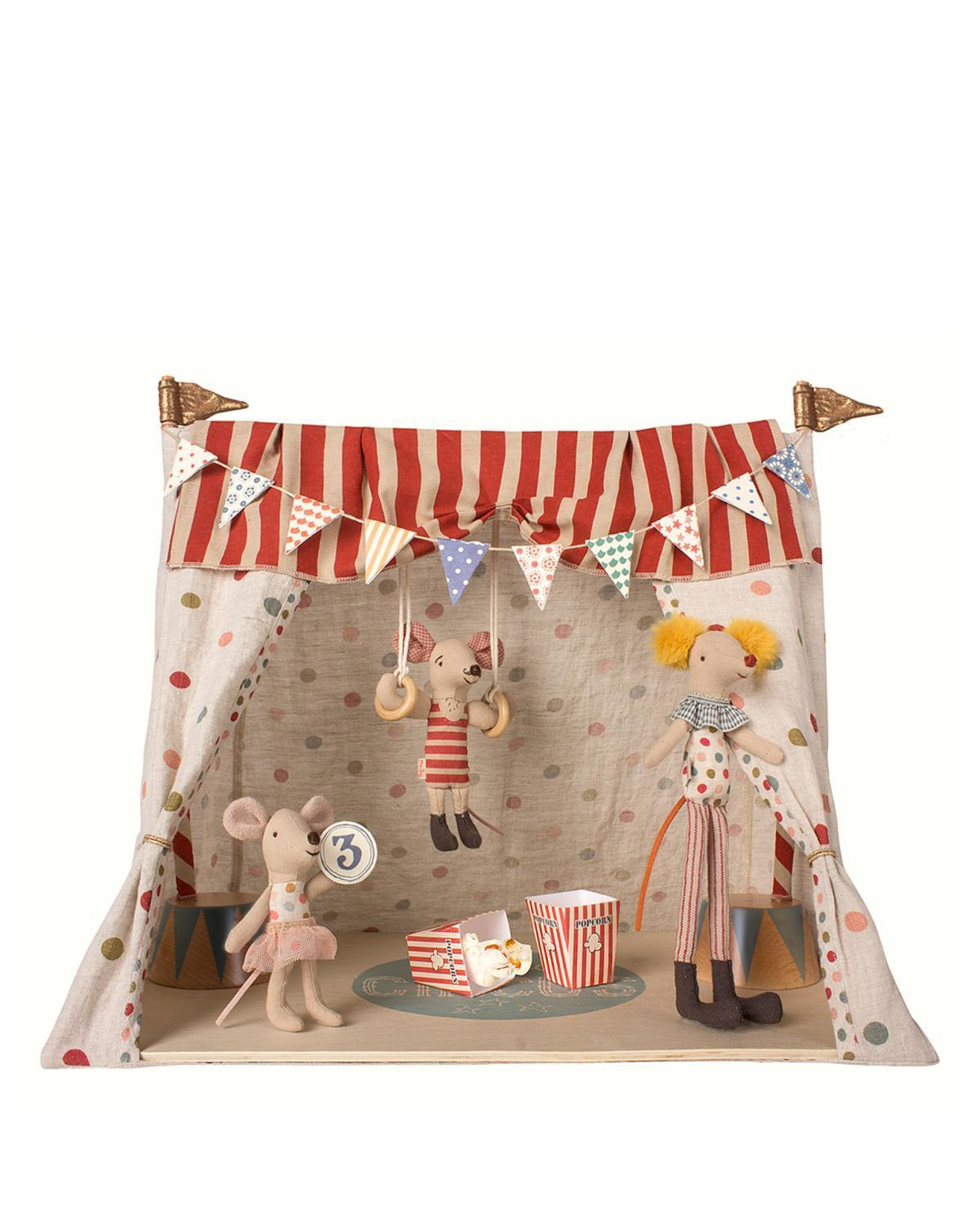 Little maileg play circus + 3 mice