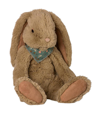 Little maileg play extra large brown fluffy bunny