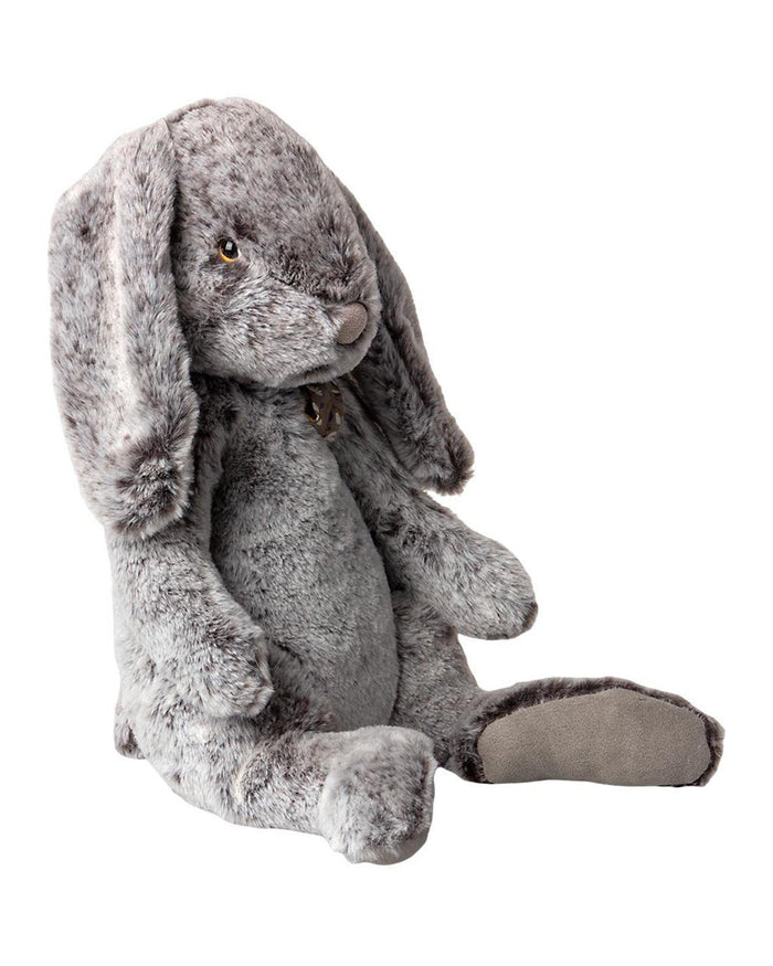 Little maileg play extra large fluffy bunny in grey
