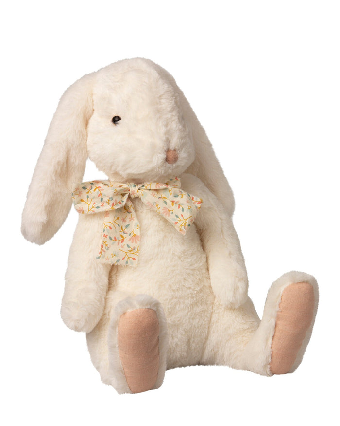 Little maileg play extra large fluffy bunny in white
