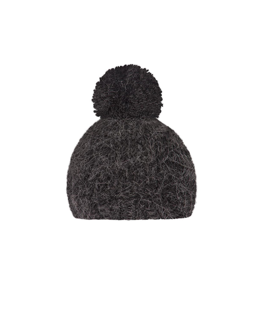 Little maileg play hand knitted hat in  in anthracite