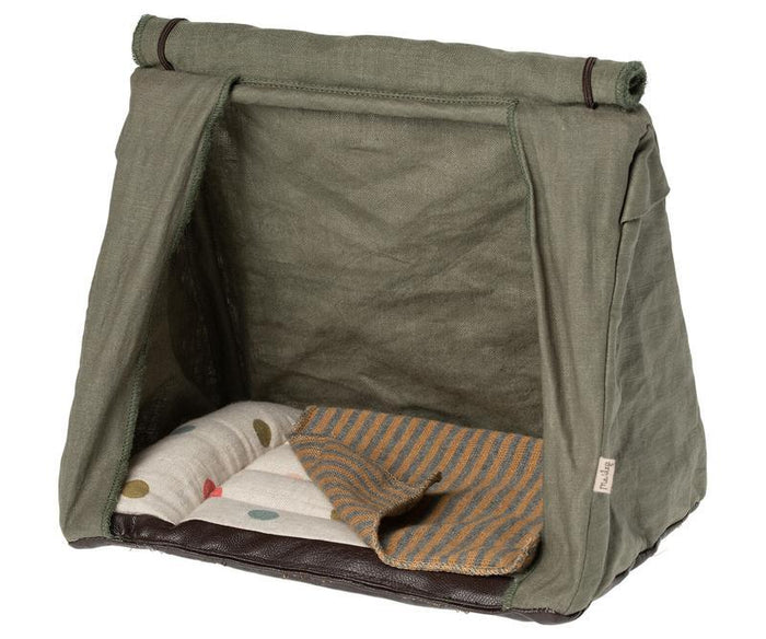 Little maileg play happy camper tent