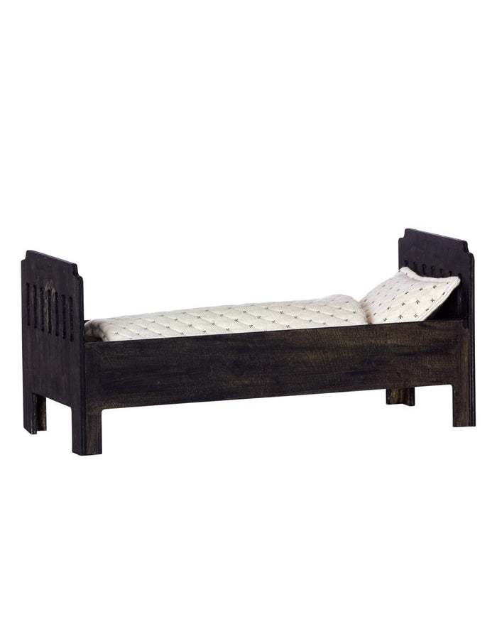 Little maileg play Large Bed in Black