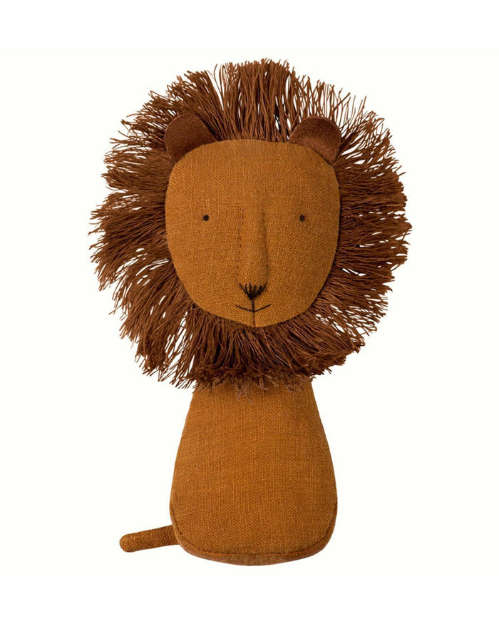 Little maileg play lion rattle