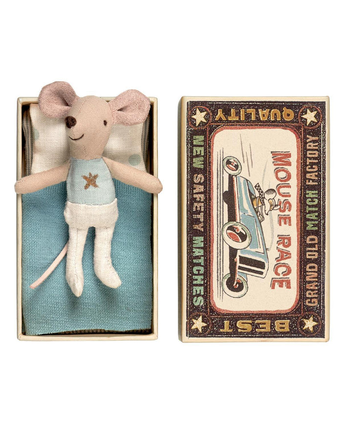 Little maileg play Little Brother Mouse in Box (Star)