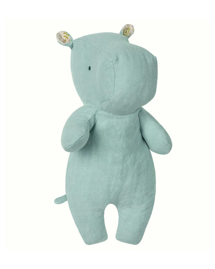 Little maileg play little hippo in aqua