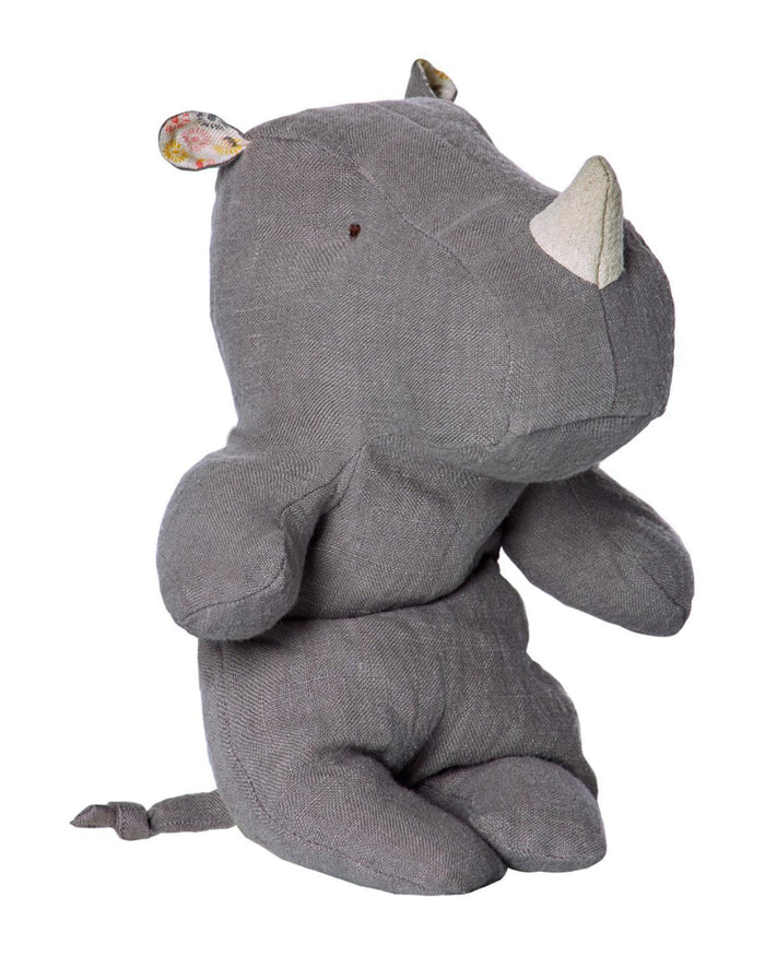 Little maileg play Little Rhino in Grey