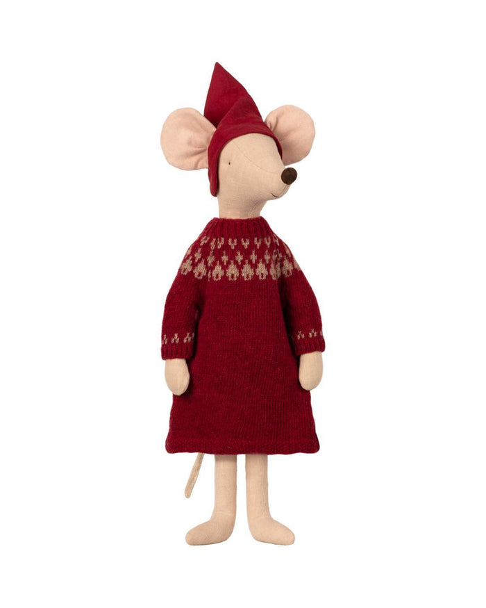 Little maileg play maxi christmas girl mouse