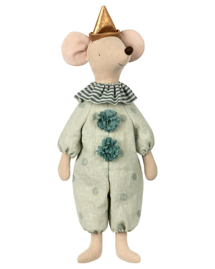 Little maileg play maxi circus clown mouse
