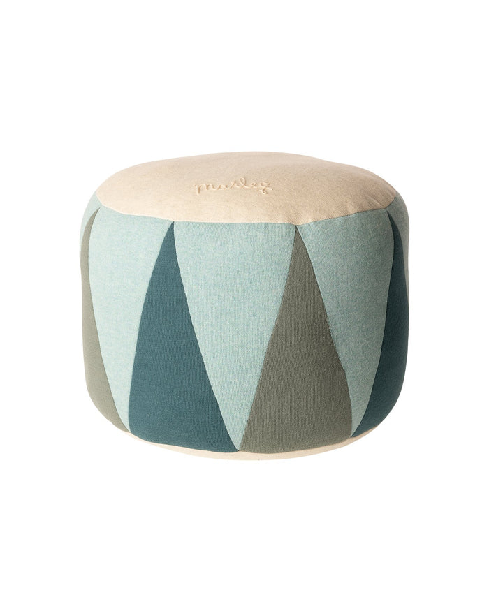 Little maileg room medium drum puff in mint