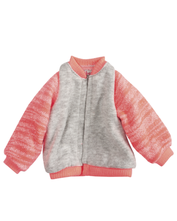 Little maileg play Medium Jacket in Coral