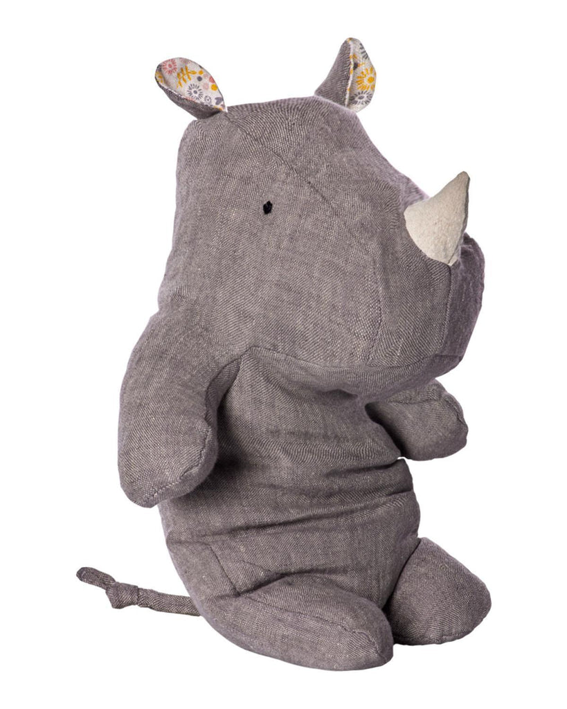 Little maileg play Medium Rhino in Grey