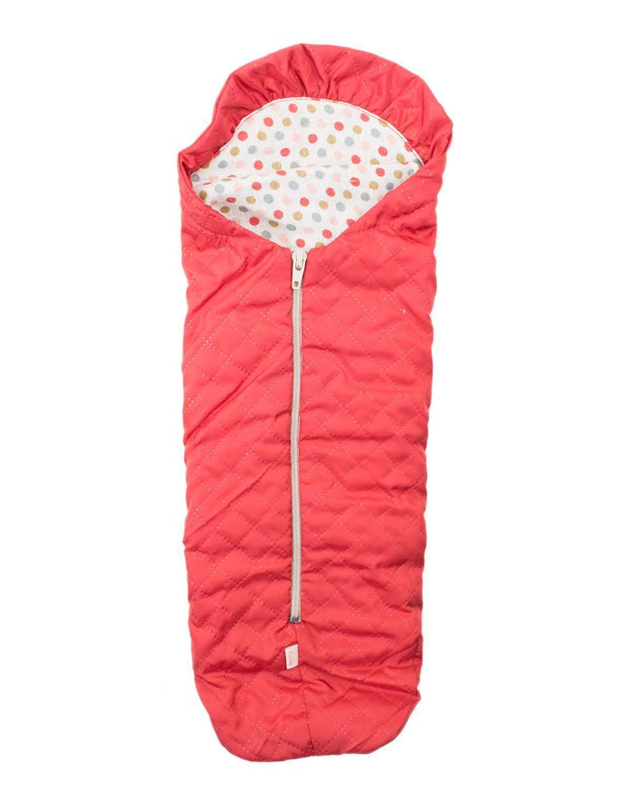 Little maileg play medium sleeping bag in red