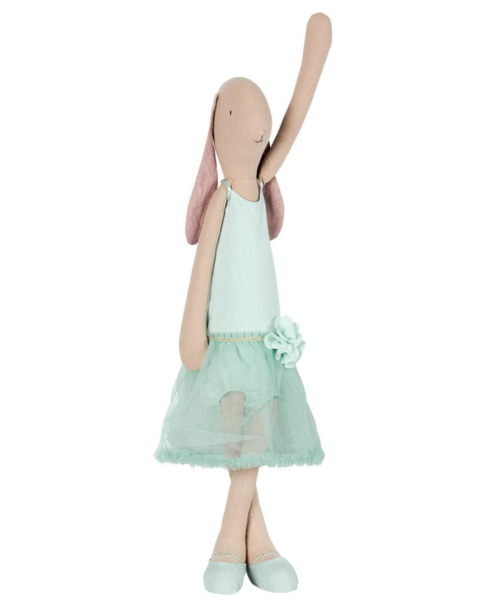 Little maileg play mega bunny ballerina in mint