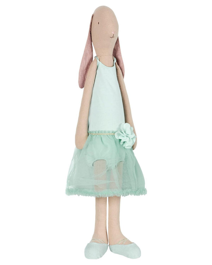 Little maileg play mega maxi bunny ballerina in mint